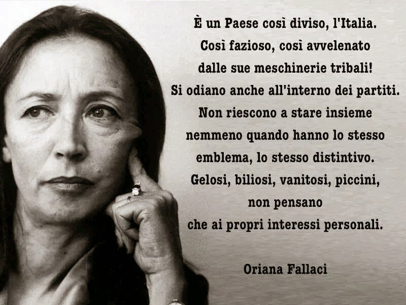 Frasi Sulla Delusione Fallaci.Frasi Sulla Mamma Oriana Fallaci