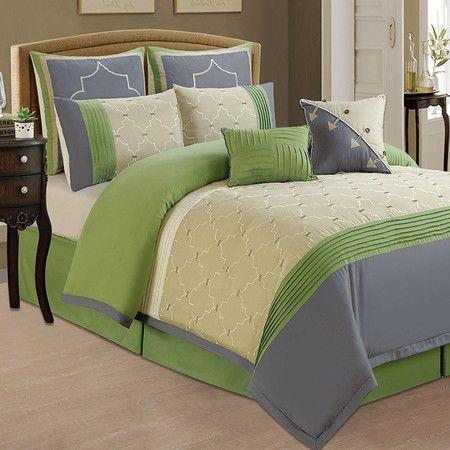 8 Piece Morgan Comforter Set At Joss Main Blue Bedding Sets