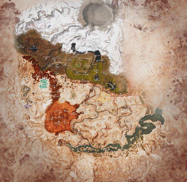 Conan Exiles - Discovery Locations, Obelisks, Interactable NPCs