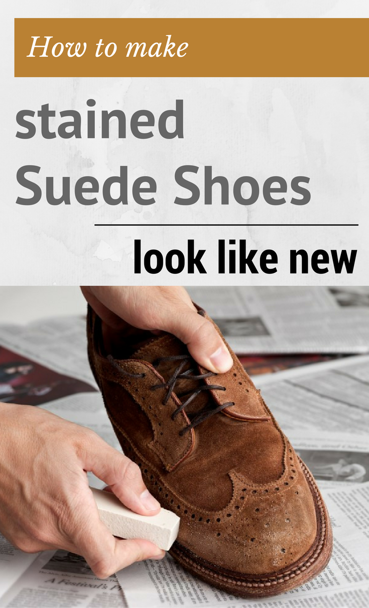 Learn How To Remove Stains From Suede Shoes