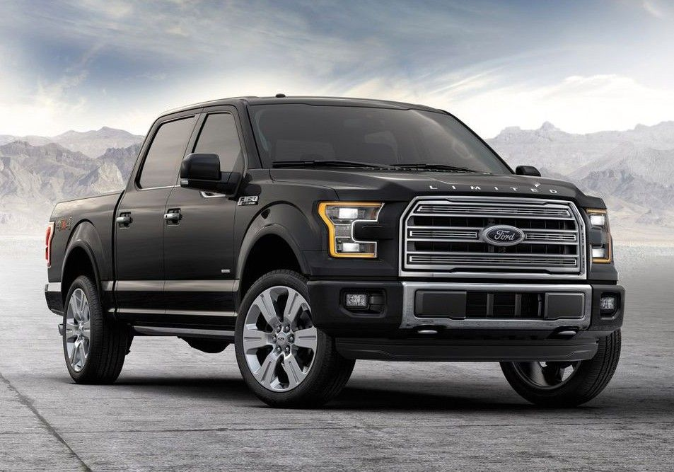 2017 Ford Limited F 150 Black Ford Motor Company Camionetas Ford