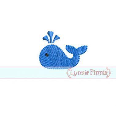Mini Whale Embroidery Design Embroidery Designs Mini Designs