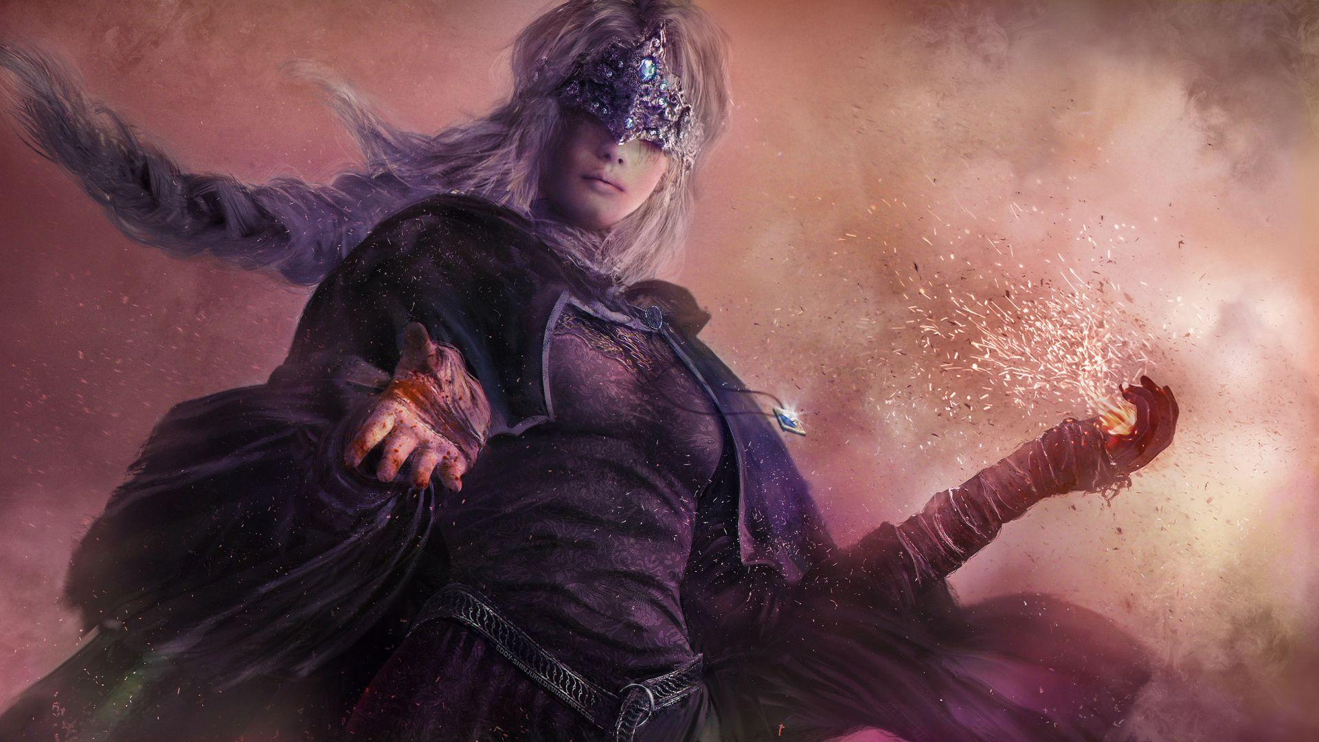 Video Game Dark Souls III Fire Keeper Wallpaper