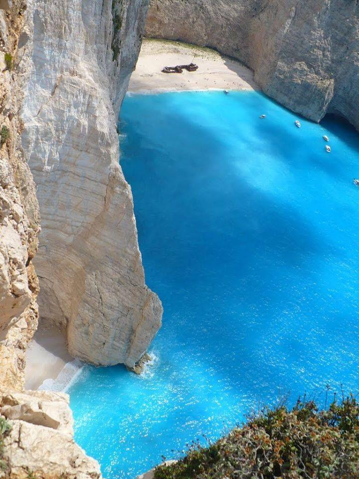 Illa de Zante o Zakynthos, pertanys al grup de les Illes Jònicas de Grècia.