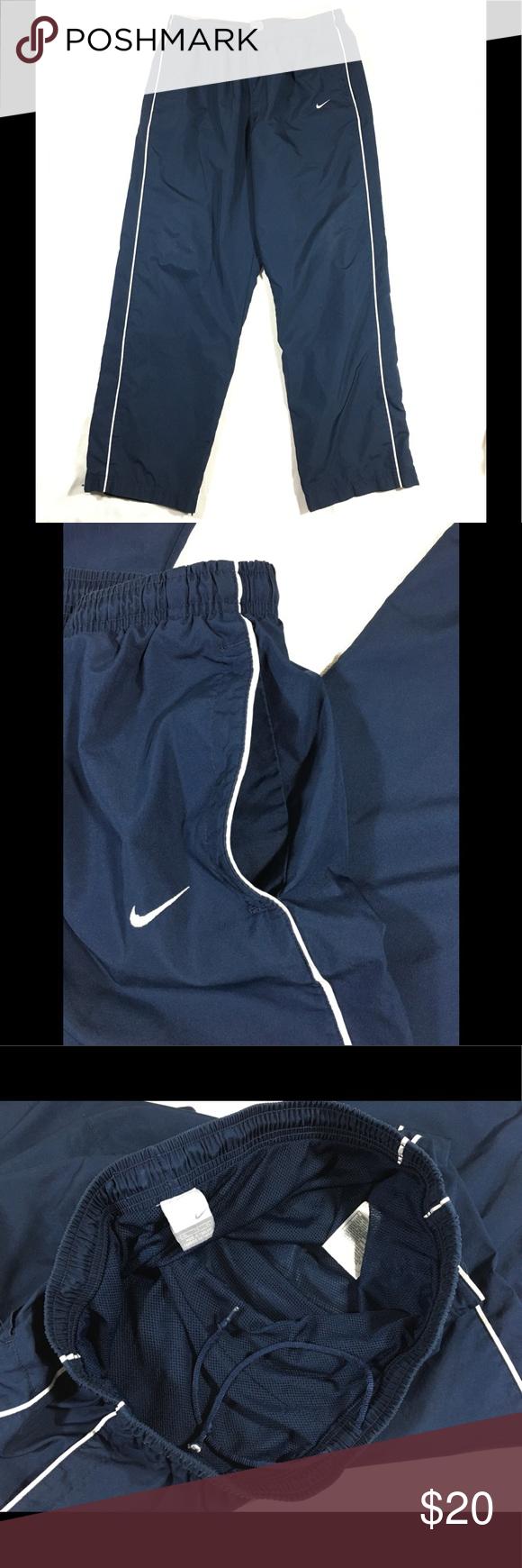 0a9b23a28a361 NIKE Mens Pants Mesh Lined Wind stripe XL NIKE Mesh Lined Sport / Athletic Wind  Pants