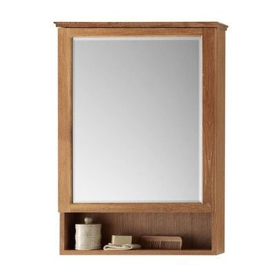 Ronbow Transitional 24 X 34 Solid Wood Framed Medicine Cabinet
