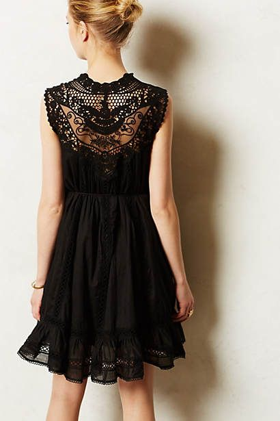 0b795c7f4326 Mirleft Black Lace Dress By Zimmerman