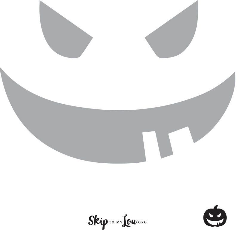 graphic regarding Printable Pumpkin Face named Awesome Absolutely free printable pumpkin carving stencils Halloween Enjoyment