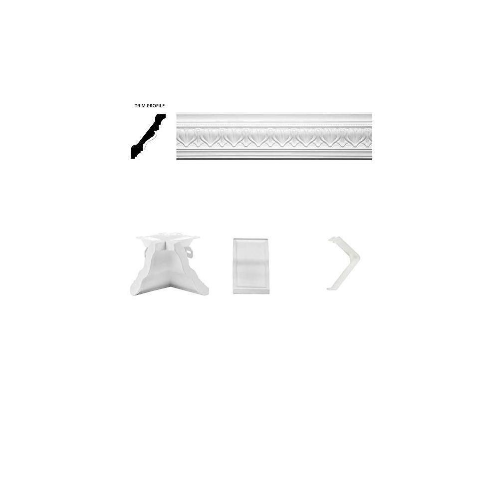 Focal Point 13 ft. x 20 ft. Acropolis Crown Moulding Room Kit-23125RK13X20 - The Home Depot