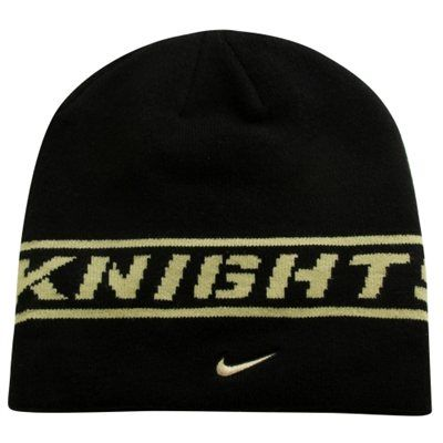 Nike UCF Knights Player Sideline Knit Hat - Black