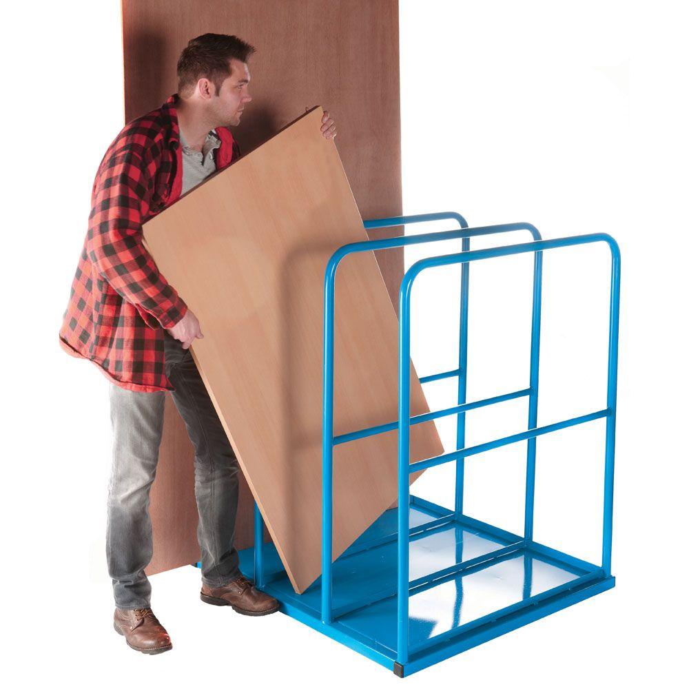 Large Vertical Sheet Rack  sc 1 st  Pinterest & Large Vertical Sheet Rack | Lumber Storage Solutions | Pinterest ...