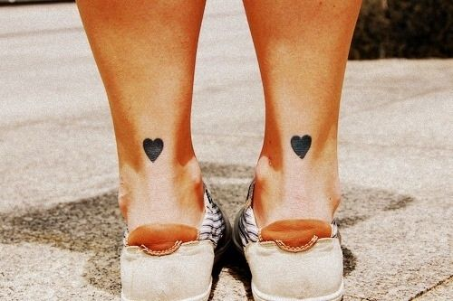 Heart tatoo