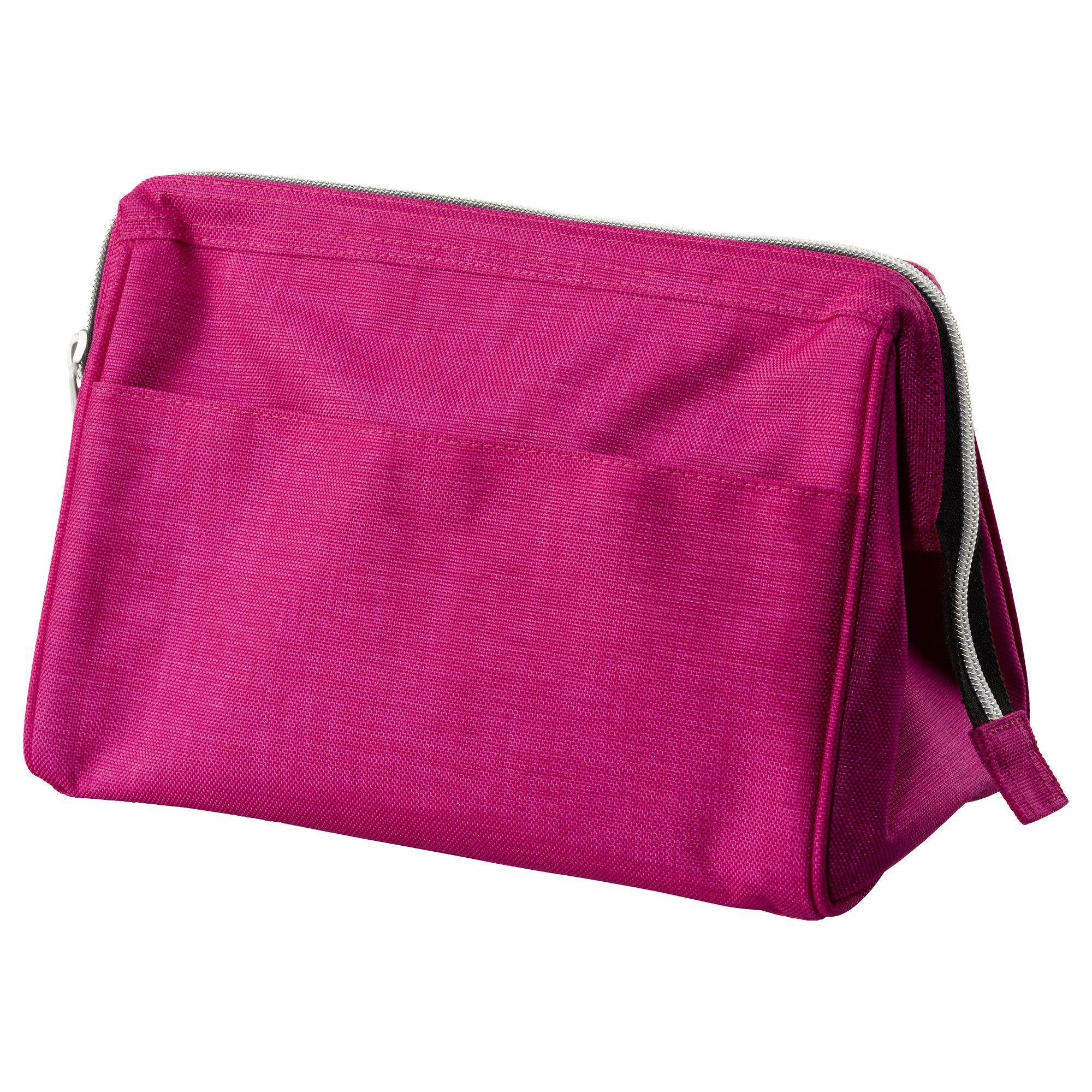 UPPTÄCKA Toiletries bag - pink - IKEA   5   e85859dd6de24