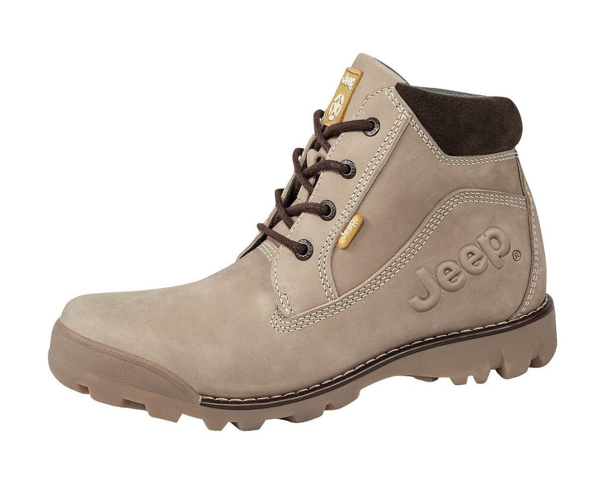 size 40 7f388 8f4d2 botas jeep 5522 - hombre piel nobuck - todo terreno hiker