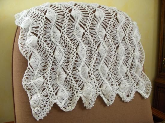 Modeles Crochet A La Fourche Crochet Echarpes Au Crochet Fourche