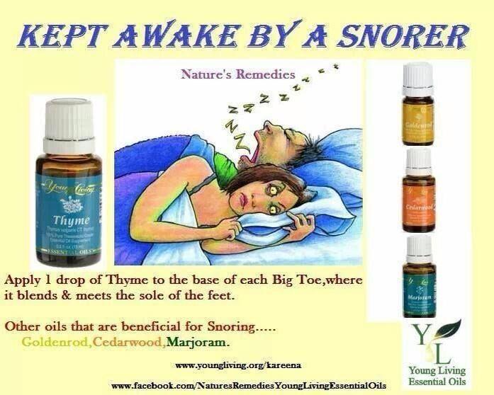 Kept awake by a snorer