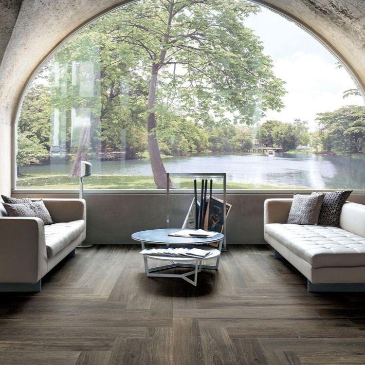 Carrelage effet plancher en bois authentique | Planchers - Porto Venere en 2020 | Plancher en ...