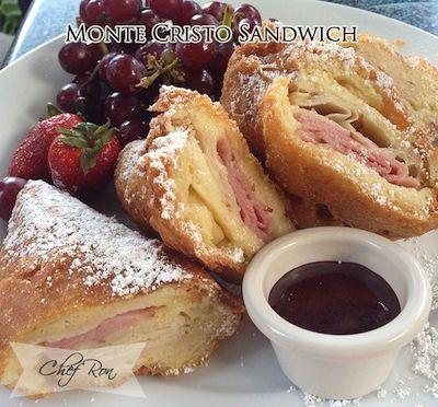 Monte Cristo Sandwich Food Recipes Recipes Food Monte Cristo Sandwich