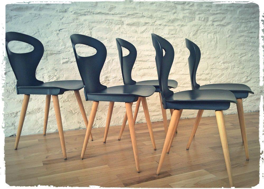 Oompa Chaise Bistrot Vintage Baumann Modele Fourmi Revisitee Chaise Bistrot Chaise Chaise De Sejour