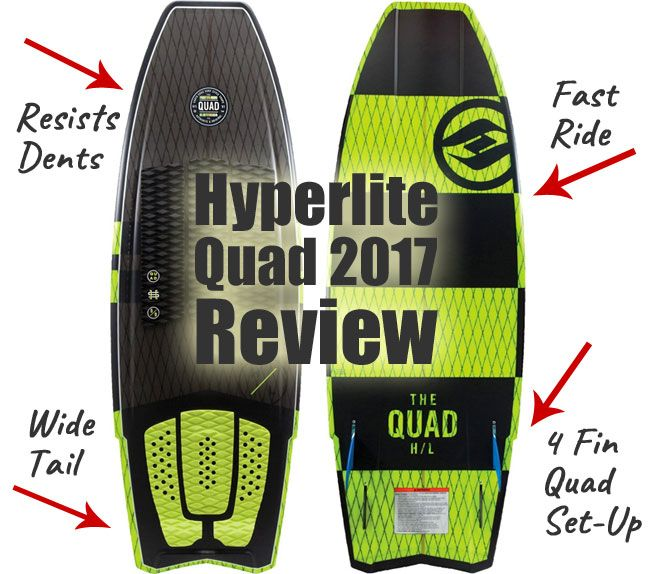 My Review Of The Hyperlite Quad Wakesurf Board Unique Features That Make It Easier To Surf How To Set Up The Fins Using Th Wakesurfing Quad Wakesurf Boards
