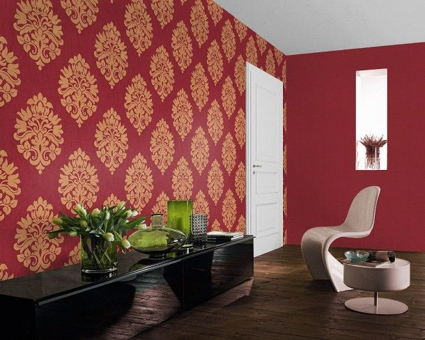 beautiful wohnzimmer rot gold photos house design ideas. full size ...