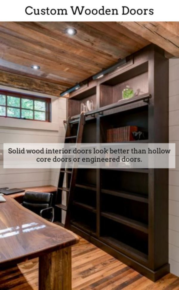 Half Glass Interior Door Plain White Door Wooden House Doors
