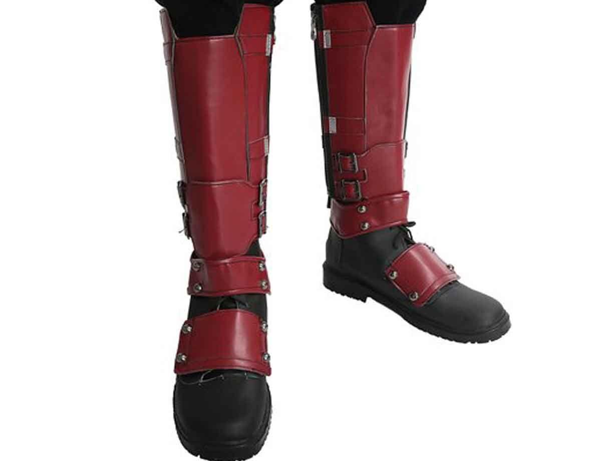 Deadpool-Costume-Boots | Cosplay | Deadpool costume, Cosplay y Deadpool