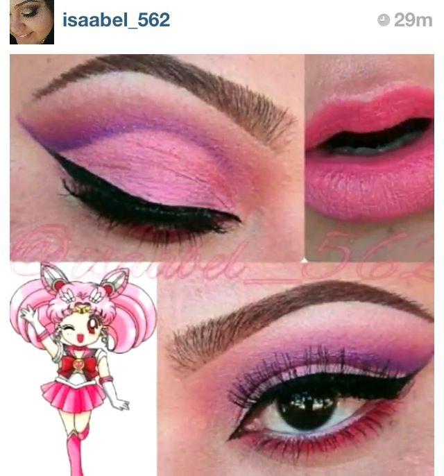 Pin By Regina Garcia On Sailor Mini Moon Sailor Moon Makeup Creative Makeup Eye Makeup