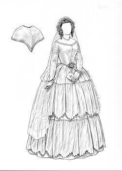 pindiana pratt on paper doll brides  patterns with