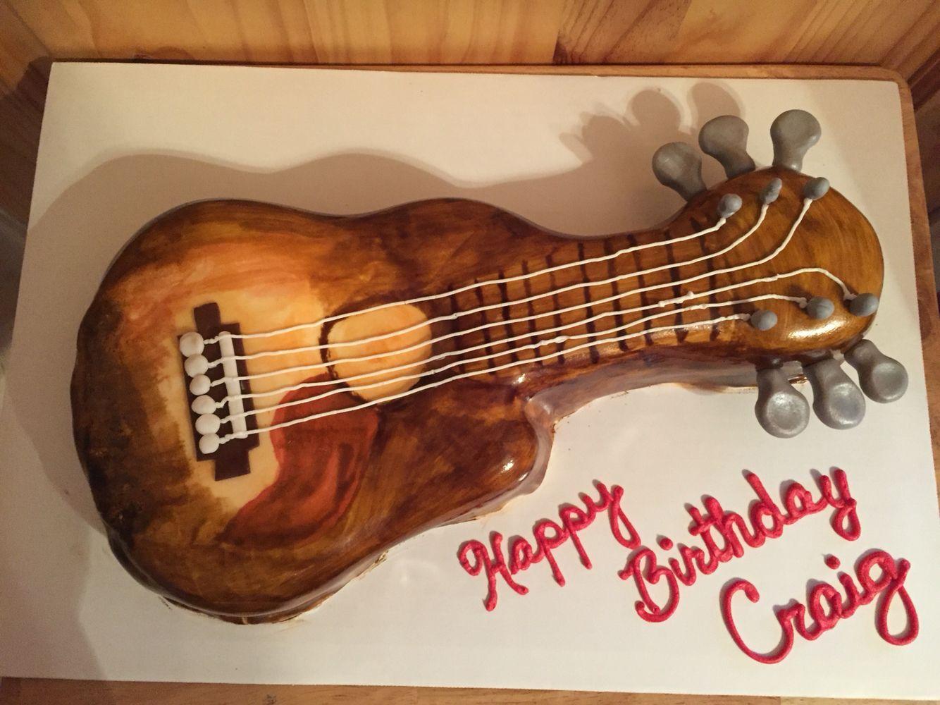 Craig's guitar