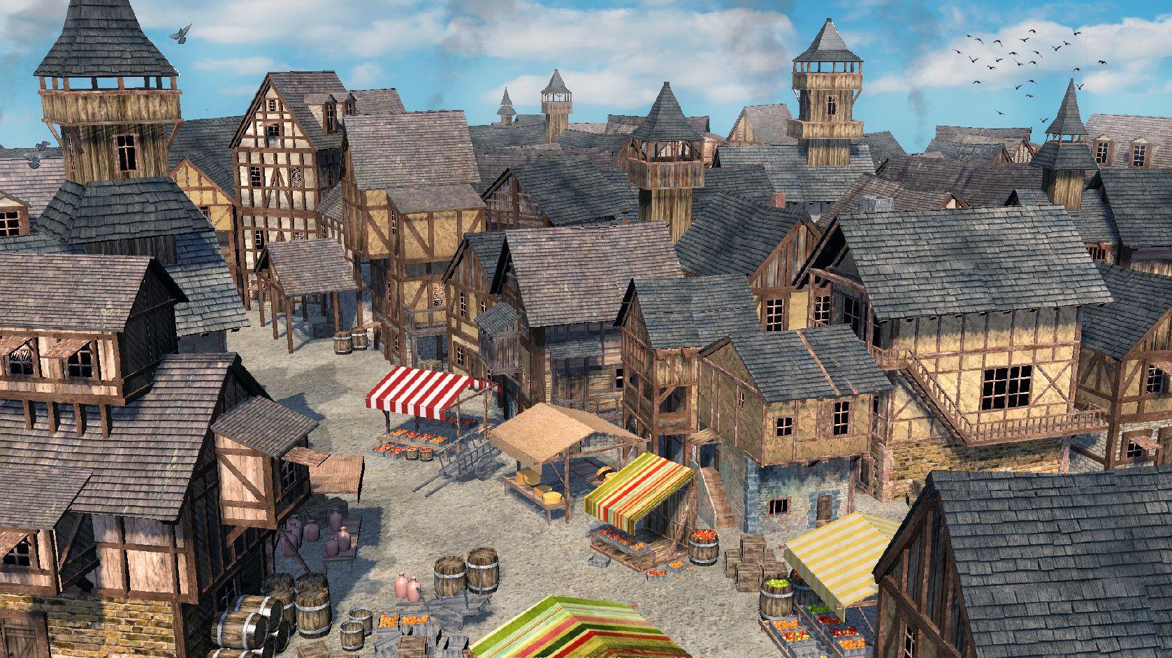 Artstation Medieval Prague Leos Kastner Fantasy City Medieval Medieval Artwork
