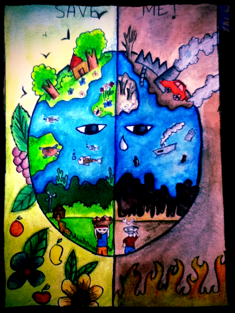 Artist Of The Day Akshaya Age 13 This Picture Is Called Save