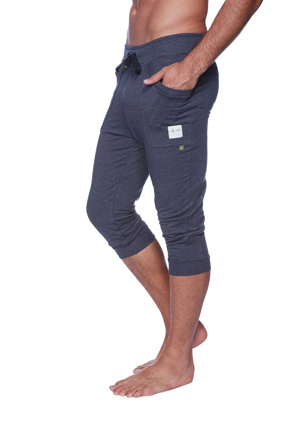 9eb9197672 Mens Cuffed Yoga Pants (Solid Charcoal) #YogaPants | Yoga Pants in ...