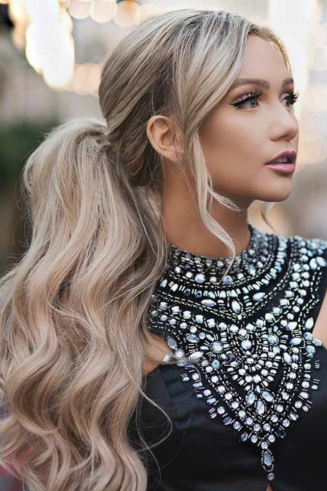 30 Best Hairstyles for Valentines Day | Ponytail styles, Hot hair styles, Cute ponytail hairstyles