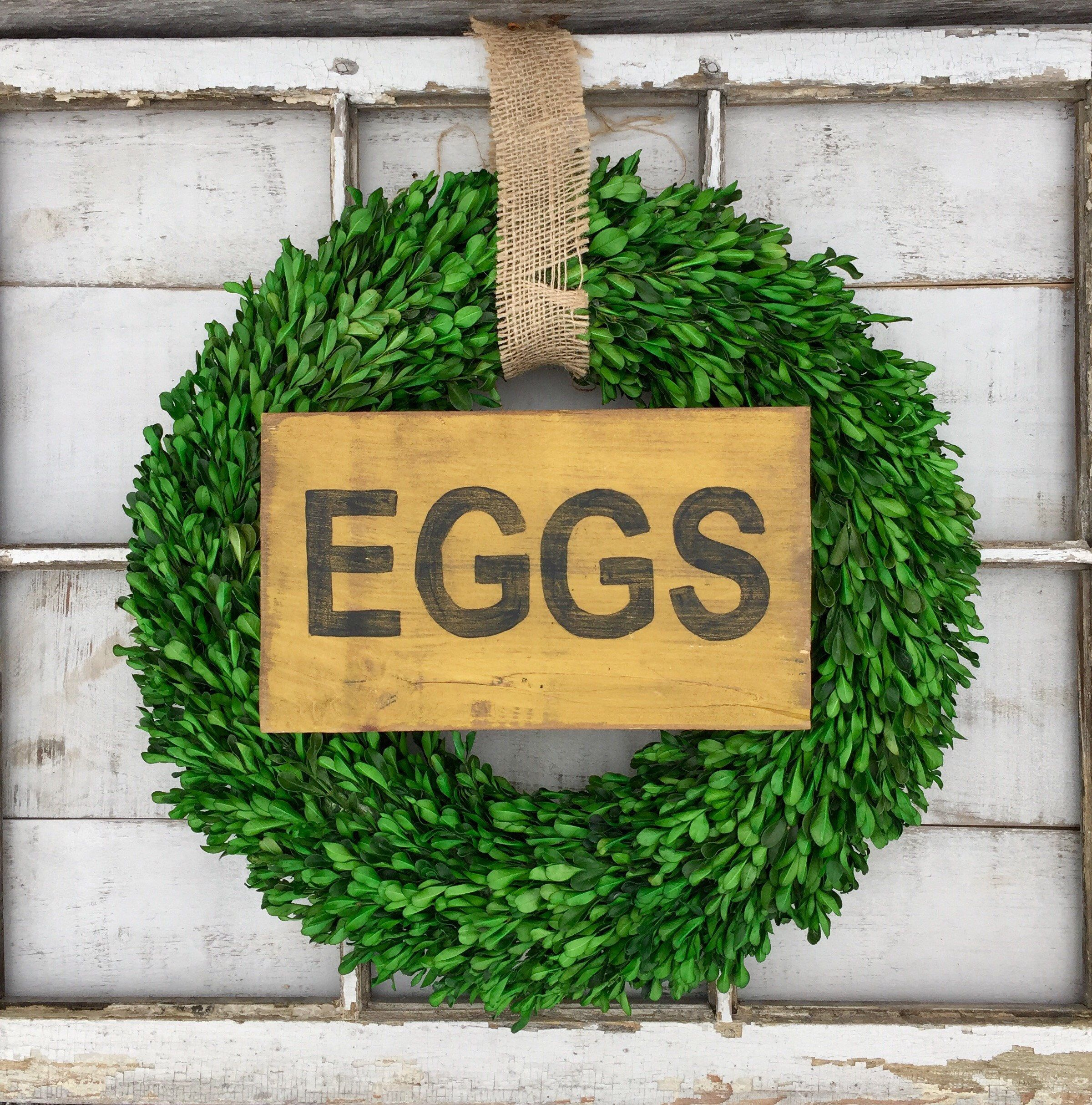 Country Decor Wood Signs Best Egg Sign Kitchen Decor Wood Sign Signs Eggs Farmhouse Style Review