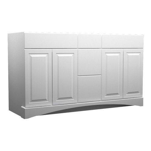 Best Kraftmaid Double Vanity Cabinet Via Lowes Bathroom 400 x 300