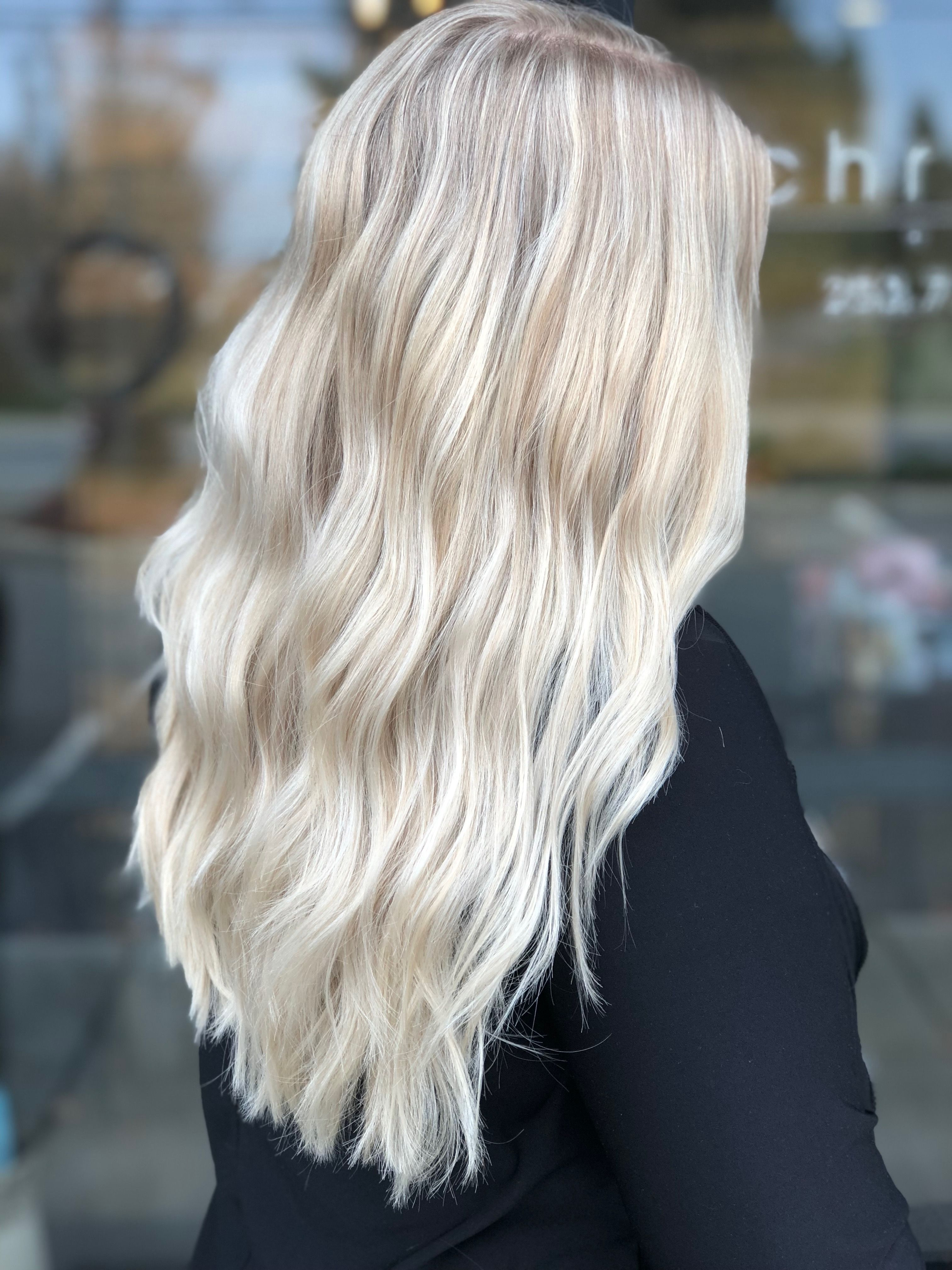 💙 winter blonde ❄️ by Terry Ross Tacoma,WA  Cool blonde hair