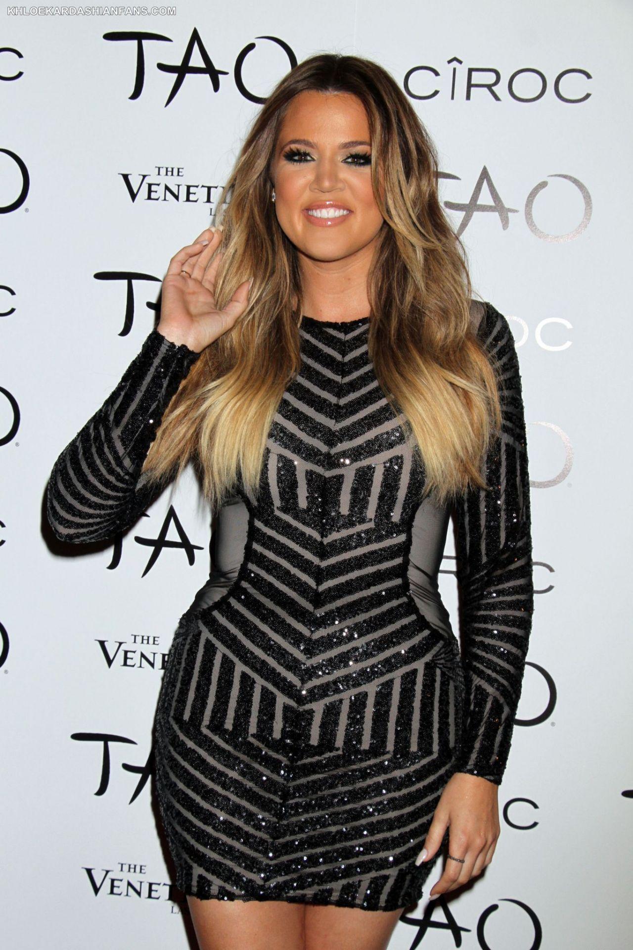 Khloe Kardashian - 30th Birthday Party at Tao Nightclub in Las ...