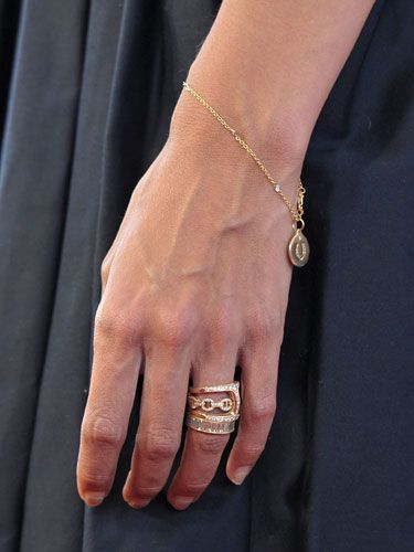 Katie Holmes Wedding Ring Stackable Rose Gold Rings With Diamond