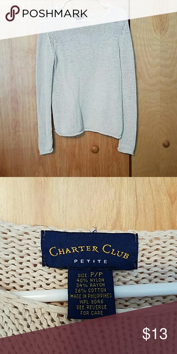 Cream sweater Off white sweater in petite size p/p Sweaters