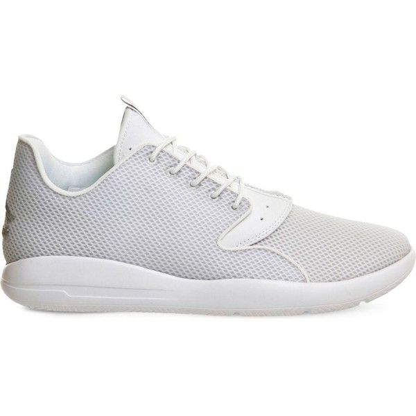 Nike Jordan eclipse mesh trainers ($105) ❤ liked on Polyvore featuring men's fashion, men's shoes, men's sneakers, nike mens shoes, mens mesh shoes, nike mens sneakers, mens leopard print shoes and mens sport shoes