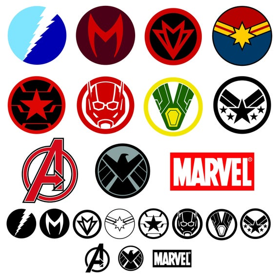 Marvel Studios style logo sign decor ~7in