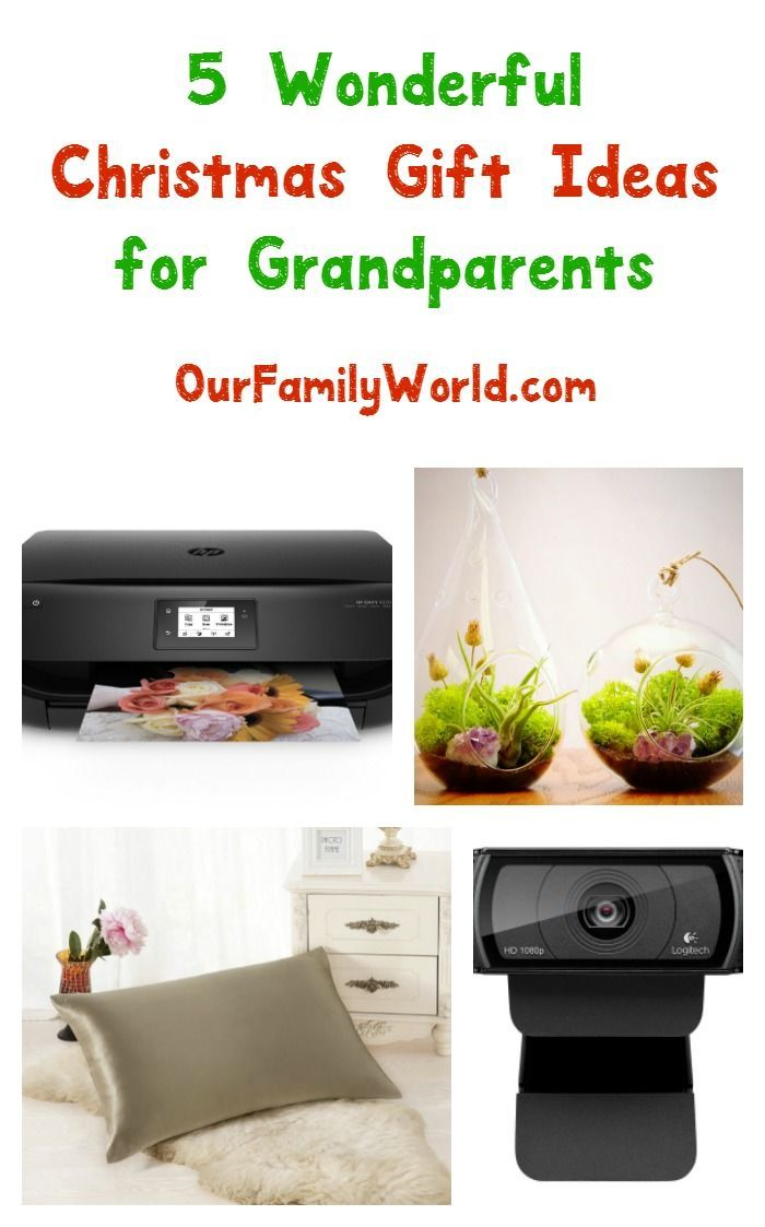 5 Wonderful Christmas Gift Ideas for Grandparents #bestgiftsforgrandparents