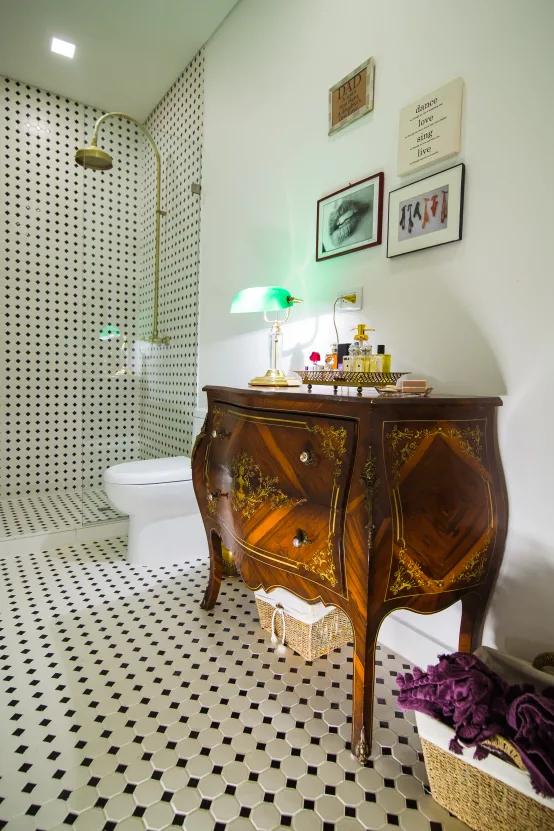 12 ideas con azulejos para revestir paredes de baños ...