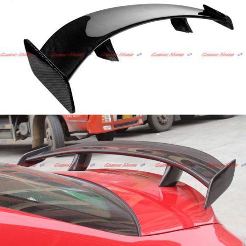 Fandixin W117 Spoiler Carbon Fiber AMG Style Rear Trunk Lip Spoiler Wing for CLA Class W117 C117 4-Door Sedan 2013-IN