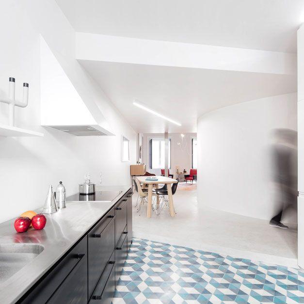 designline küche - projekte: altbau und alles auf anfang, Innenarchitektur ideen