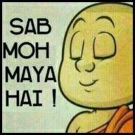 Sab moh maya hai | Hindi Photo Comments | Hindi quotes, Funny