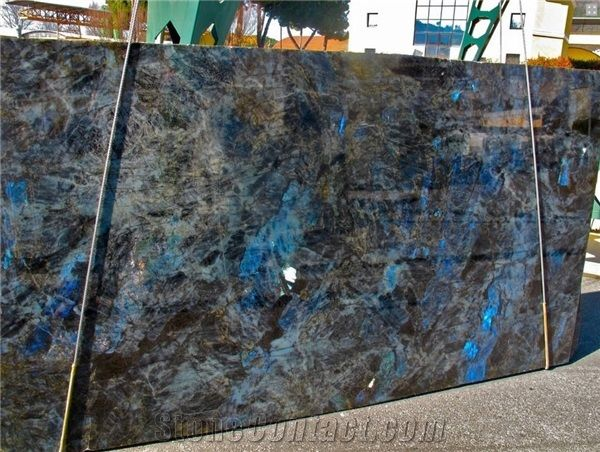 Lemurian Blue Granite Slabs Madagascar