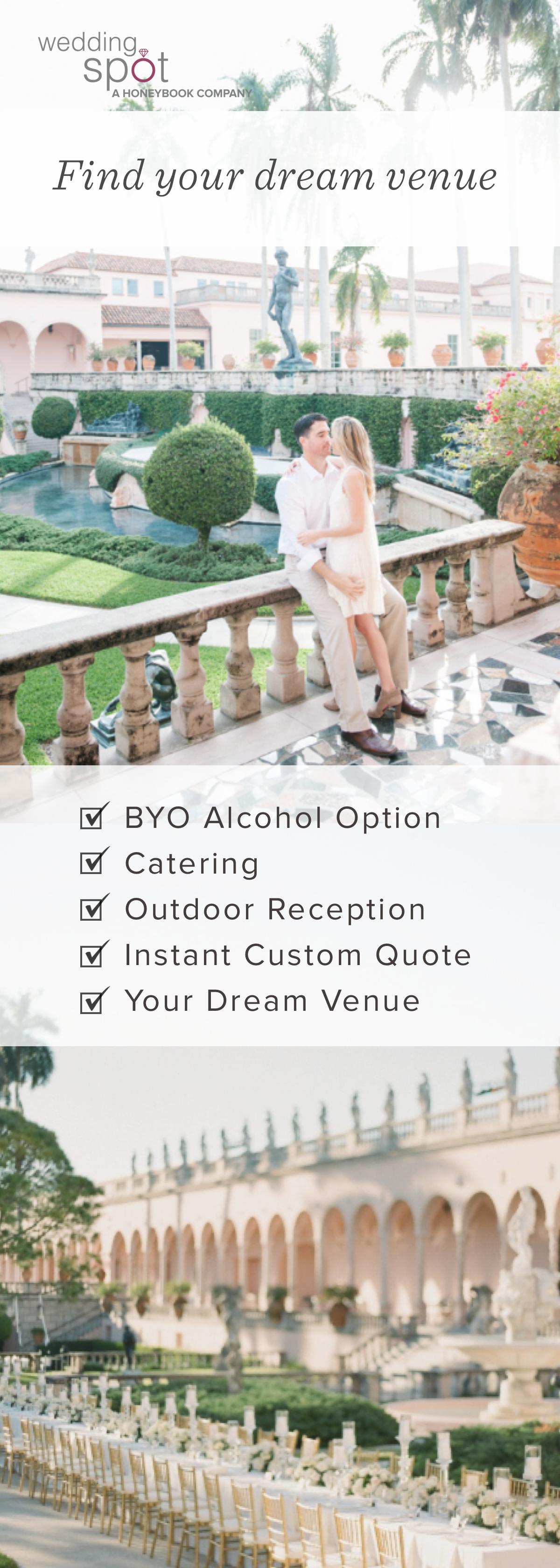 5 affordable wedding venues in central florida wedding venues
