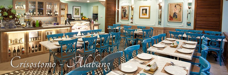 Crisostomo Restaurant - great Filipino dishes with an Asian fusion - invitation maker in alabang town center